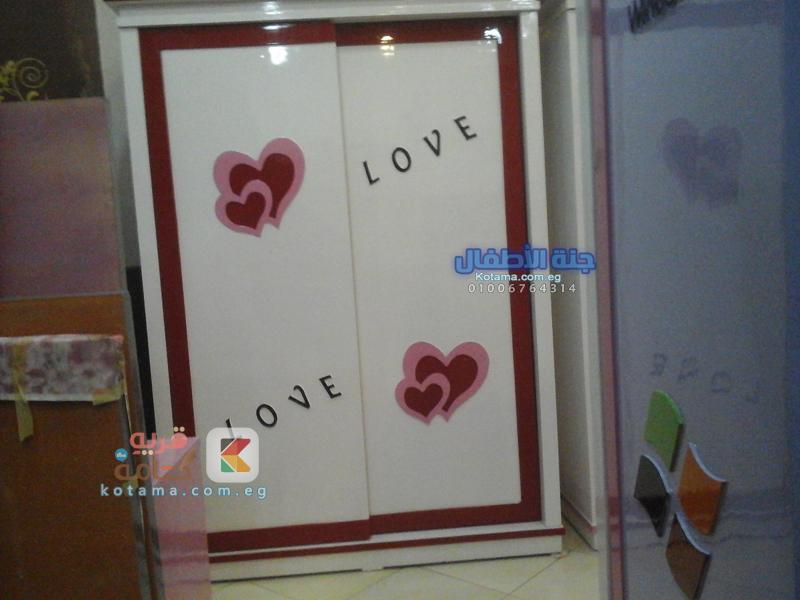 غرفه نوم اطفال قلب 2015 شيك
