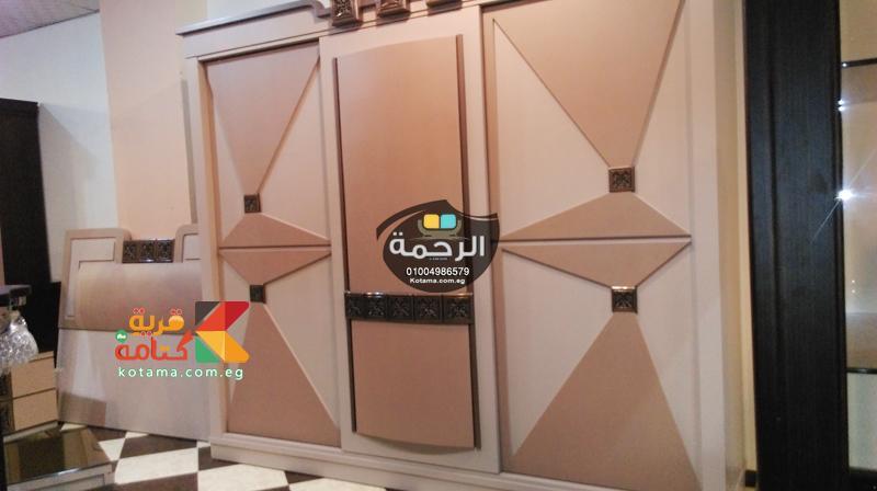 غرف نوم مودرن 3 ضلفه جرار معرض الرحمة