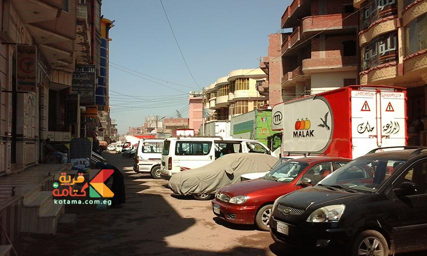 صوره من مدخل قرية كتامه