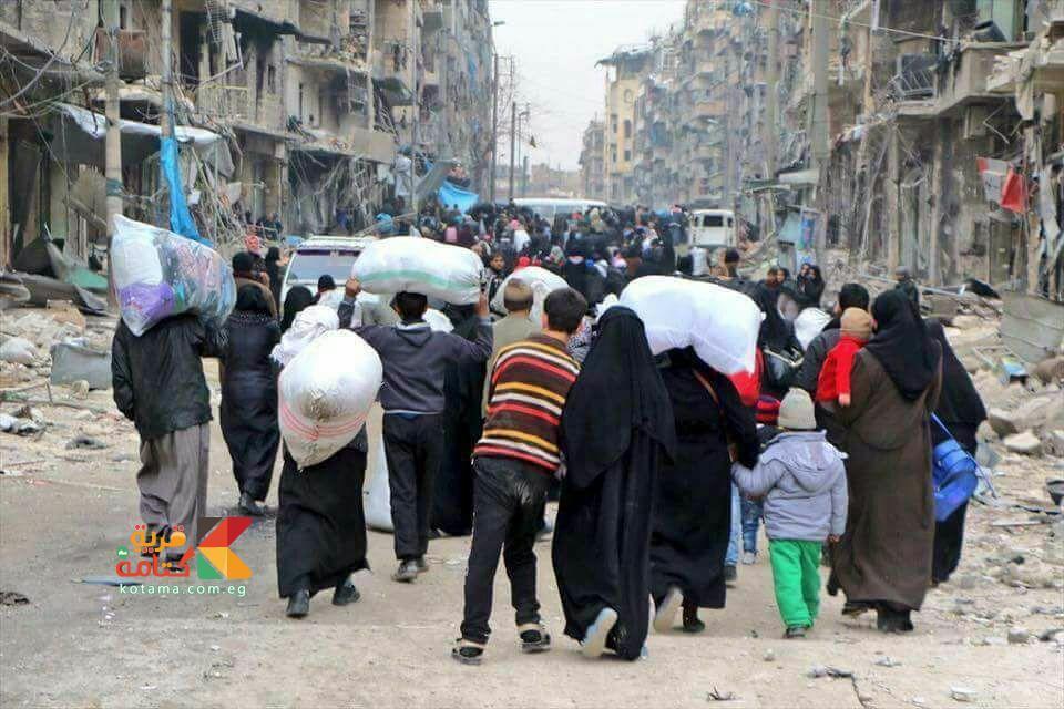 الهجره بسبب الصراعات المسلحه