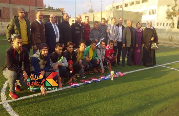 فريق كتامة بطل دوري الاتحاد الإقليمى
