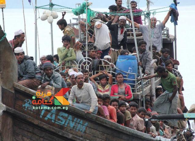 هجرة مسلمي بورما بسبب الاضطهاد الديني