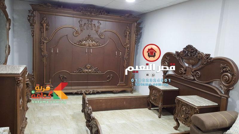صور غرف نوم كلاسيك 2018 قصر النعيم قريه كتامه