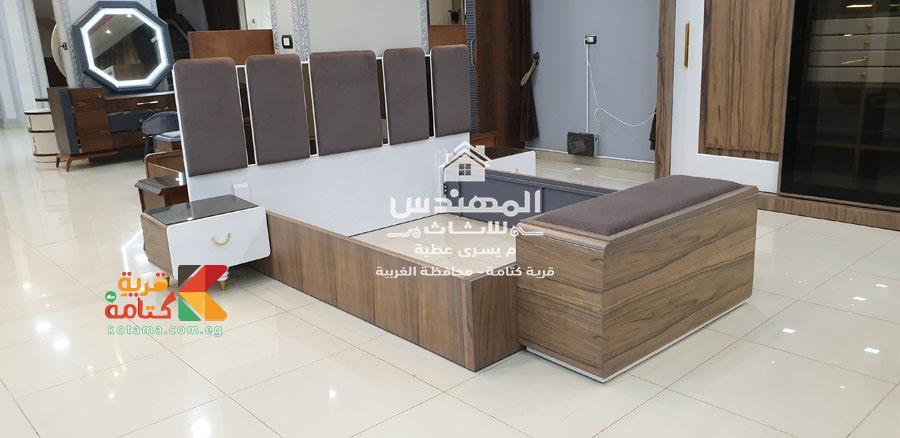 سرير غرف نوم مودرن